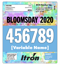 Personalized Race Bib for 2020